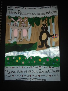 Twin Rabbits go to the Woods